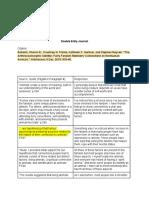 peer reviewed article