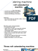 Calendering Machine