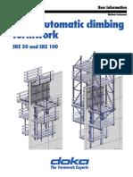 Doka Automotif Climbing Formwork