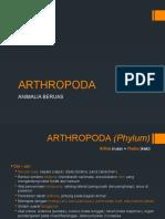 PPT Praktikum Makropaleontologi 2012 - Arthropoda