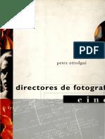 Directores de Fotografia Cine - Ettedgui Peter