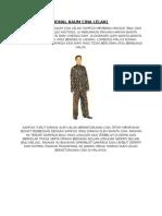 Pakaian Tradisional Kaum Cina Lelaki