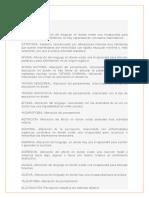Glosario de Psicopatologia