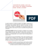 Tema 14 Estrategias Para Vender Mas