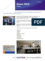 Alstom PACiS Training Brochure GB