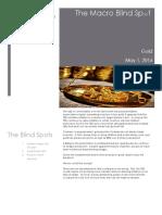 Gold May 2016 - Macro BlindSpots