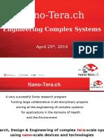 Nano-Tera 2016 State of the Art