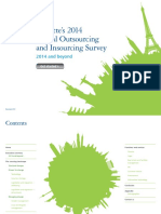 Deloitte 2014 Global Outsourcing Insourcing Survey Report