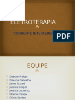 ELETROTERAPIA - Corrente Interferencial Slide
