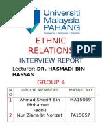 Ethnic Report