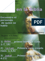 Primeros de La Biblia