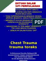 33 - Chest Trauma
