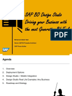 2. SAP BO Design Studio