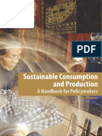 Sustainable consumption and production - A handbook for policymakers