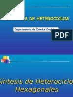 sintesis de heterociclos de seis miembros