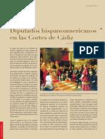 Los Diputados Hispanoamericanos en Las Cortes de Cádiz