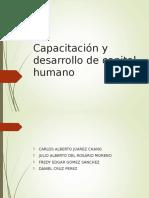 adiestramiento y capacitacion de recursos humanos
