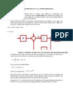 Interpretación Geométrica d e La Observabilidad