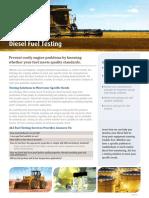 Diesel Fuel Testing