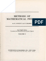 Vol I OCR Contents Courant Hilbert MethodsMathPhysics Vol I 575pp