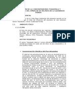 Resumen de a Linea de Base Del Estudio de Impacto Ambiental Del Proyecto Ampliación de La Concentradora Toquepala y Recrecimiento Del Embalse de Relaves de Quebrada Honda