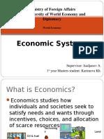3 Economic Systems