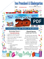 April 2016 Anniversary Issue
