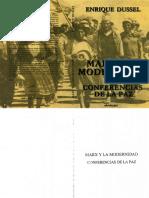 Marx y La Modernidad Enrique Dussel.pdf