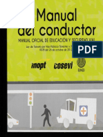 Manual Del Conductor COSEVI