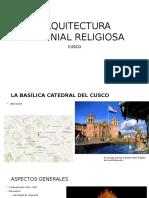 Arquitectura Colonial Religiosa