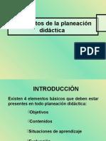 1Elementos de La Planeación Didáctica