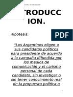 Elecciones en Argentina, desde la Ley Saenz Peña