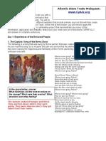 atlantic slave trade webquest