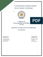 System Simulation Model Lab Manual