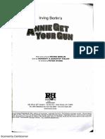Annie Get Your Gun Script