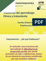 Trastornos Del Aprendizaje Clinica y Tratamiento