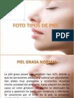 Tipos de Piel_Grasa Normal, Grasa Deshidratada, Ocluida y Mixta