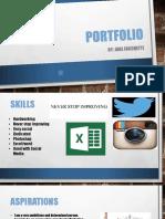 sport management portfolio