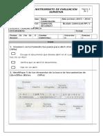 Instrumento de Evaluacion Computacion 3ro