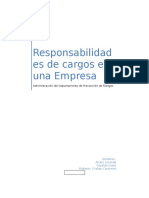 Responsabilidades de Cargos en Una Empresa