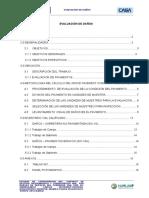 Informe Evaluación de Daños