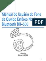 Manual Do Usuario - Nokia BH 503