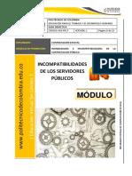 Doc (11) - Incompatibilidades de Los Servidores Publicos
