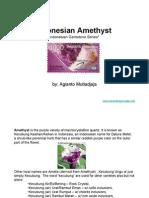 Indonesian Amethyst