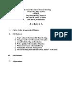 EAC Agenda May 4, 2016