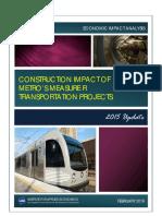 LAEDC report on Measure R economic impacts
