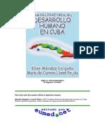 Desarrollo Humano Descentralización CUBA