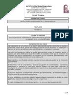 FICHA TECNICA Archivonomia y Transparencia Gubernamental