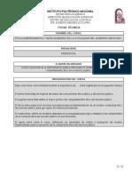 FICHA TECNICA Etica Gubernamental