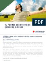 10 Habitos Basicos de Las Personas Exitosas